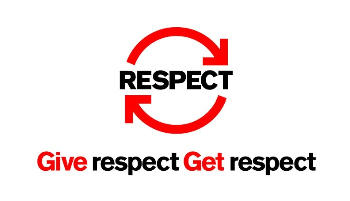 how to show someone respect